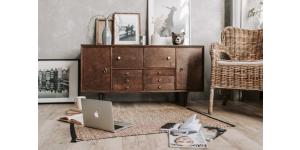 relooker meuble rustique