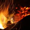 flamme chaleur