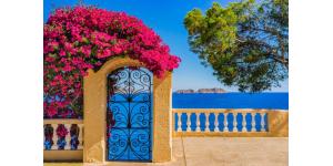 La convivialité du Sud avec une maison méditerranéenne